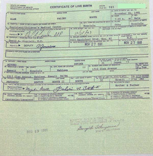 oklahoma department of health birth certificate