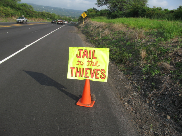 'Occupy' Arrives In Kona, Hawaii