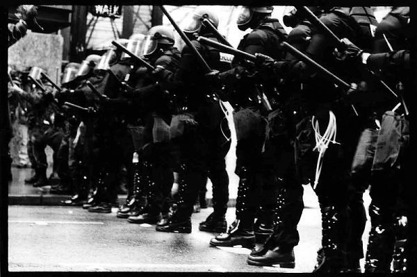 Seattle Riot Police WTO 1999