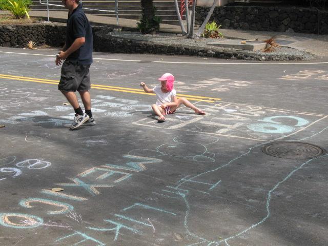 Everybody chalks