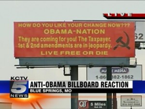 AntiObama Billboard