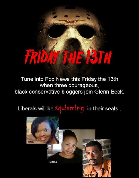 Friday the 13th on the Glenn Beck