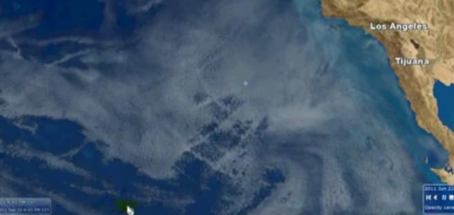 Chemtrails Caught On Satellite