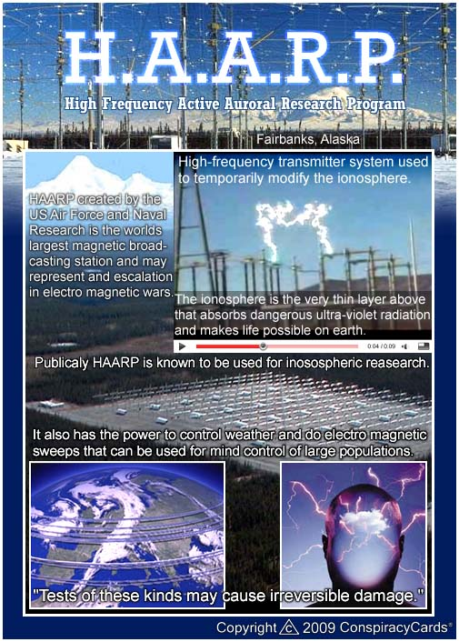 Congress Notified About HAARP Rings And Severe Weather