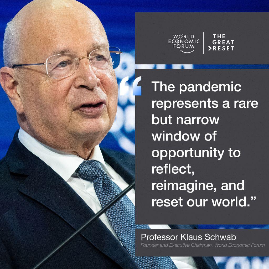 Klaus Schwab New World Order Great Reset